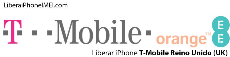 Liberar iPhone T-Mobile Reino Unido