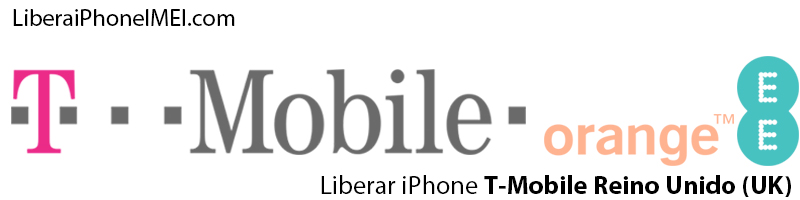 Liberar iPhone T-Mobile Reino Unido