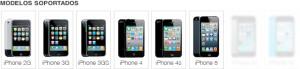 liberar iphone modelos soportados 5