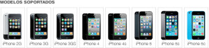 liberar iphone modelos soportados 5s