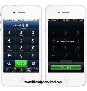 Saber IMEI iPhone