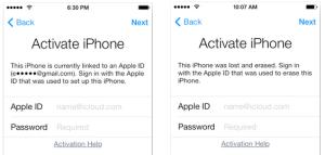 Activar iPhone iCloud