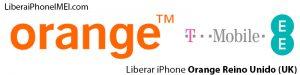 Liberar iPhone Orange Reino Unido