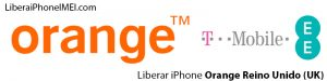 Liberar iPhone Orange Reino Unido