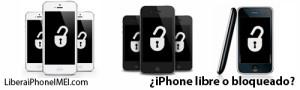 saber si un iphone es libre