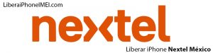 Liberar iPhone Nextel México