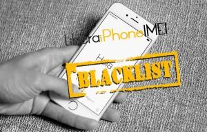 iphone blacklist solucion