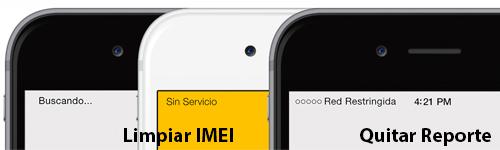 limpiar IMEI Mexico
