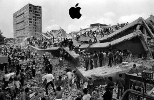 Apple ayuda Mexico terremoto