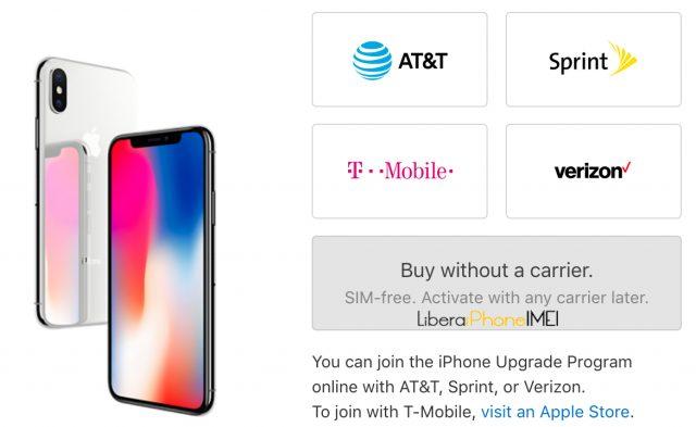 comprar iphone x libre en usa
